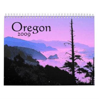 Calendario de Oregon