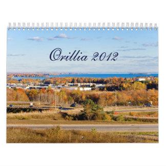 Calendario de Orillia - 2012