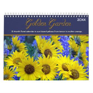 Calendario de oro del jardín 2016