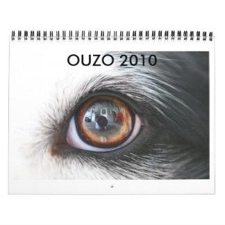 Calendario de Ouzo 2010