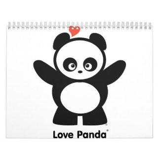 Calendario de Panda® del amor
