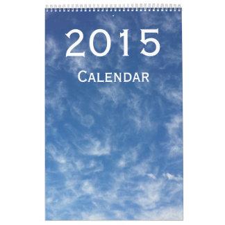 Calendario de pared de 2015 paisajes por Janz