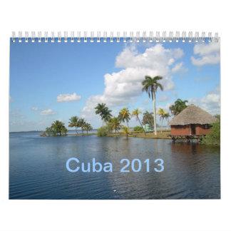 Calendario de pared de Cuba 2013