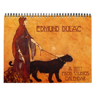 Calendario de pared de Edmun Dulac 2011