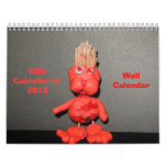 Calendario de pared de Ellie Castellanos 2013