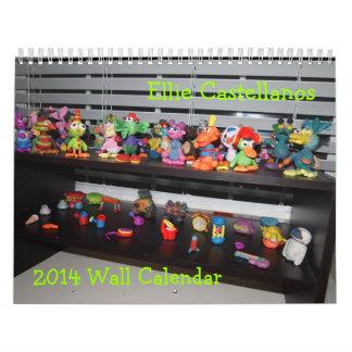Calendario de pared de Ellie Castellanos 2014