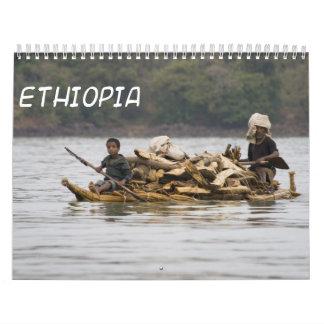 Calendario de pared de Etiopía 2013