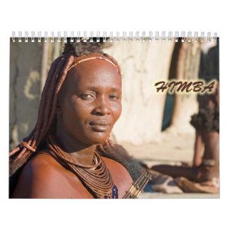 Calendario de pared de Himba 2013