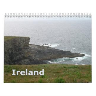 Calendario de pared de Irlanda 2013