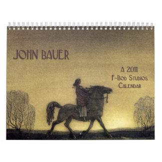 Calendario de pared de Juan Bauer 2011