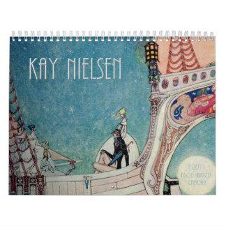 Calendario de pared de Kay Nielsen 2011