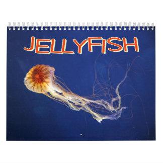 Calendario de pared de las medusas