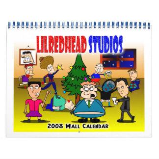 Calendario de pared de los estudios 2008 de