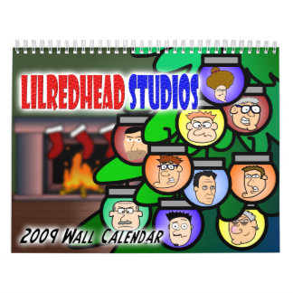 Calendario de pared de los estudios 2009 de