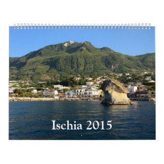 Calendario de pared de los isquiones 2015