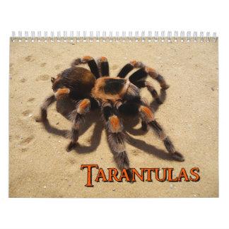 Calendario de pared de los Tarantulas
