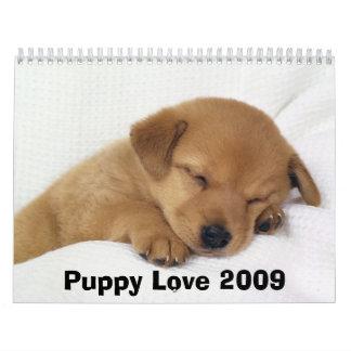 Calendario de pared del amor adolescente 2009