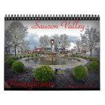 Calendario de pared del valle de Saucon