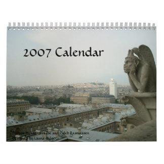 Calendario de París 2007