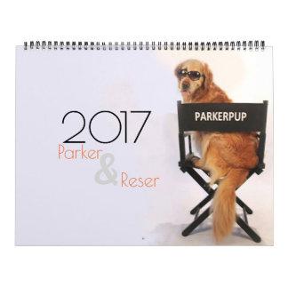 Calendario de ParkerPup 2017 y de Reser