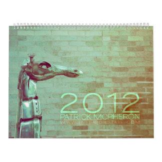 Calendario de PATRICK MCPHERON 2012