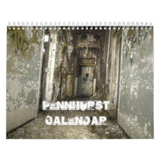Calendario de Pennhurst