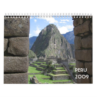 Calendario de Perú 2009