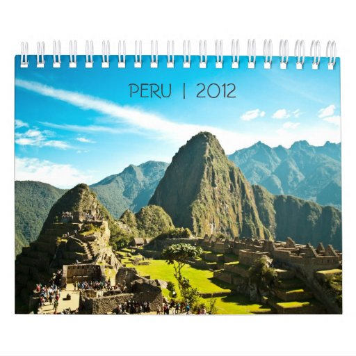 Calendario de Perú 2012
