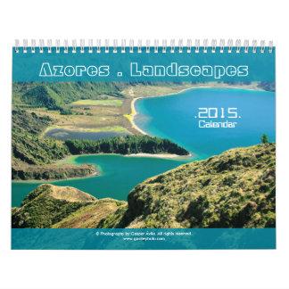 Calendario de Photograpphy 2015 de los paisajes de