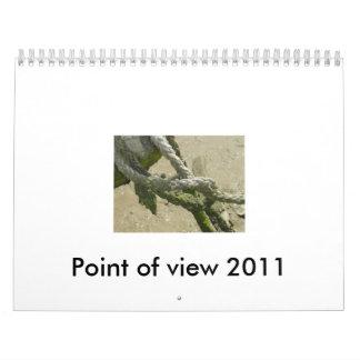 Calendario de Point of View 2011