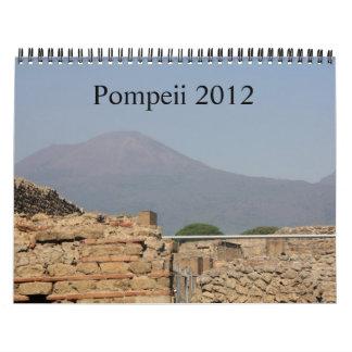 Calendario de Pompeya 2012