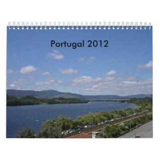 Calendario de Portugal 2012