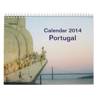 Calendario de Portugal 2014