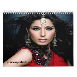 Calendario de princesa Portraits 2010-2011