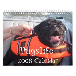 Calendario de Pugslife 2008