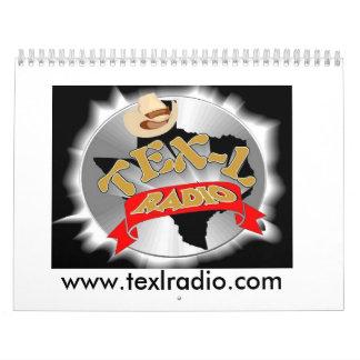 Calendario de radio de TEX-L