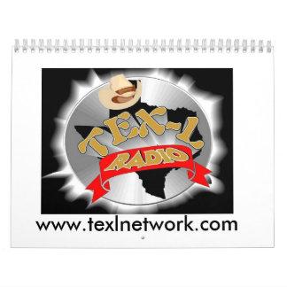 Calendario de radio de TEX-L - modificado para req