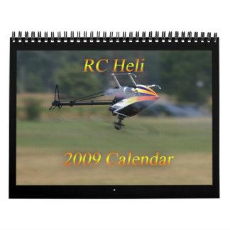 Calendario de RC Heli