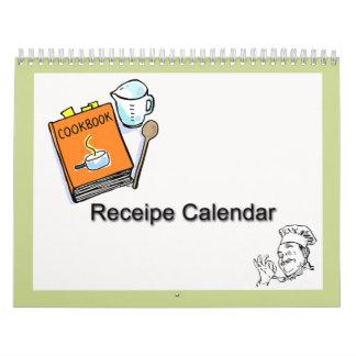Calendario de Receipe