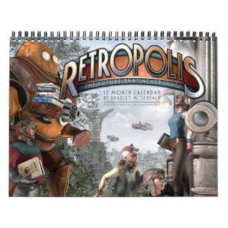 Calendario de Retropolis