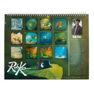 Calendario de Rob Kaz 2016