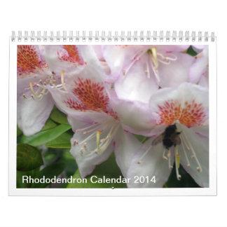 Calendario de Rododendron 2014 - fotografías