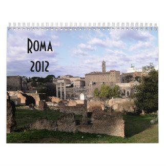 Calendario de Roma 2012