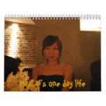 Calendario de s de señora Yi '- lluv de i esto