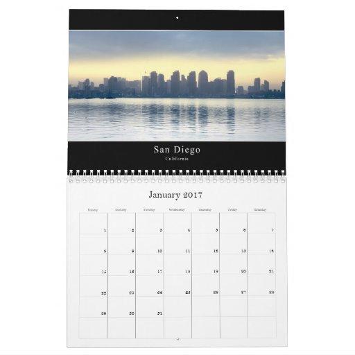 Calendario de San Diego