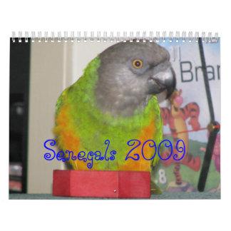 Calendario de Senegals 2009 - modificado para