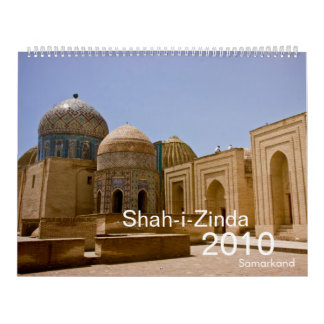 Calendario de Shah-i-Zinda Samarkand 2010