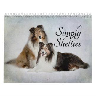 Calendario de Sheltie