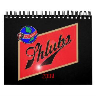 Calendario de Shlubs