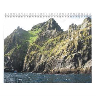 Calendario de Skellig Michael